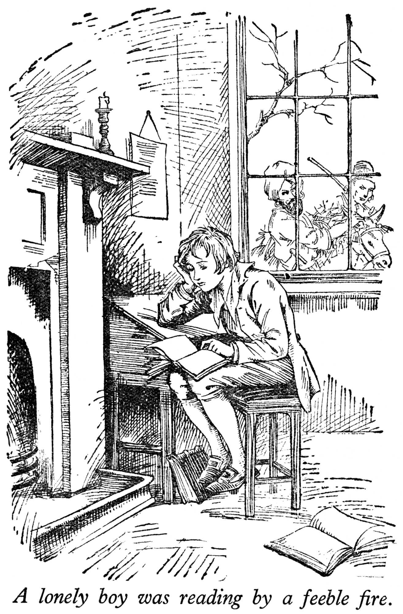 Free charles dickens coloring pages for Christmas carol coloring pages