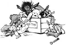 Toys in toy box