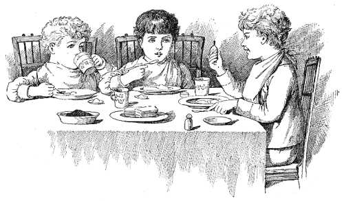 Illustration From Little Ones Annual 1890